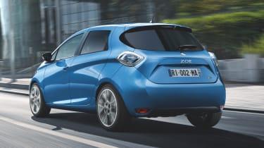 Renault Zoe update - rear