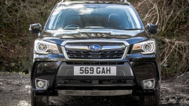 Subaru Forester XT - full front static