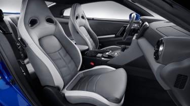 Nissan GT-R 50th Anniversary Edition - studio seats