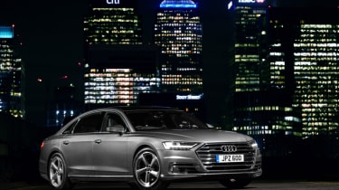 Audi A8 - front static night