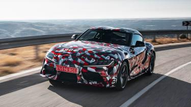 Toyota Supra prototype - front tracking