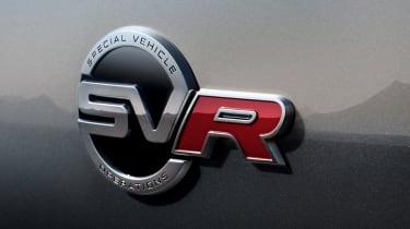Jaguar F-Pace SVR - SVR badge