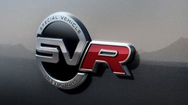 Jaguar F-Pace SVR - SVR badge