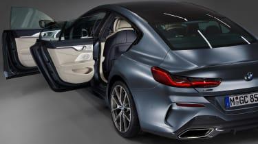 BMW 8 Series Gran Coupe - side doors open