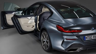 BMW 8 Series Gran Coupe - side doors open