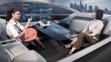 Volvo 360c concept - passengers