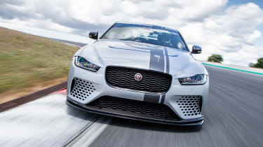 Jaguar XE SV Project 8 - full front