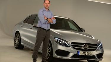 Mercedes C-Class 2014 studio photo