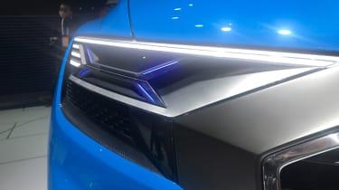 Audi Q8 concept - show front light detail