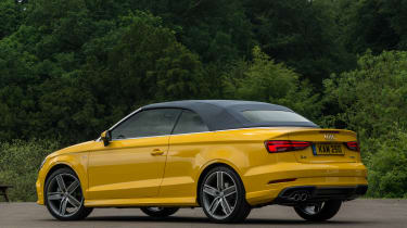 Audi A3 Cabriolet - rear roof up