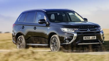 A to Z guide to electric cars - Mitsubishi Outlander PHEV