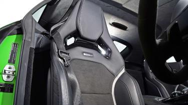 Mercedes AMG GT R - seat