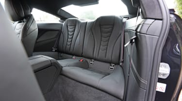 BMW 8 Series rear seats