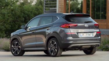 Hyundai Tucson - rear