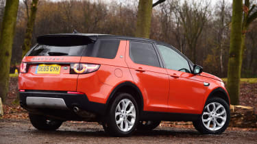 Used Land Rover Discovery Sport - rear