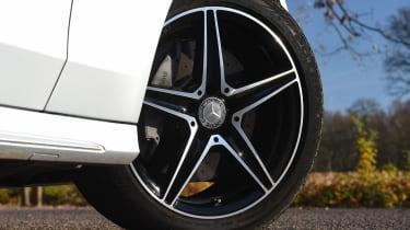 Mercedes C-Class Coupe - wheel detail