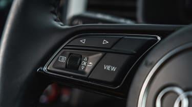 Audi A1 - steering wheel controls