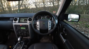 Land Rover Discovery Mk3 - dash
