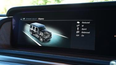Mercedes G-Class - drive mode