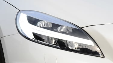 Volvo V40 long-term - first report front light detail