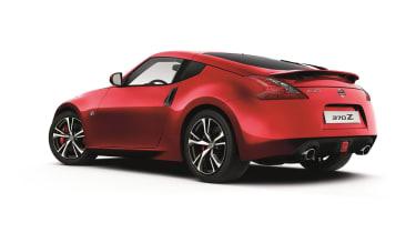 Nissan 370z 2018 rear