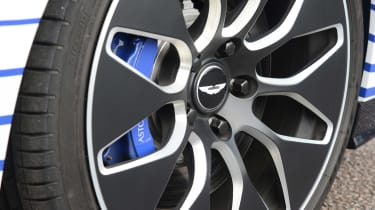 Aston Martin Rapide E - wheel detail