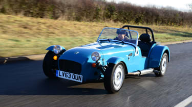 Caterham 7 160 front tracking