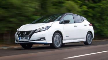 Nissan Leaf e+ - front tracking