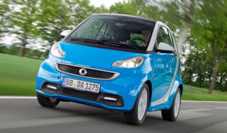 Smart ForTwo Iceshine front action