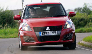 Suzuki Swift Sport front cornering