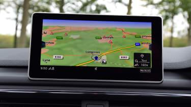 Audi S5 - sat-nav