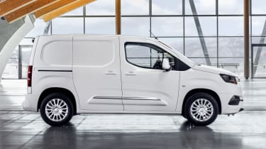 Toyota Proace City van - side