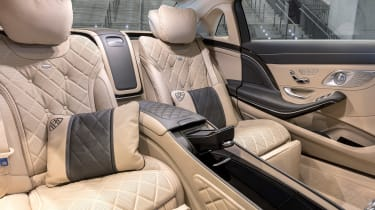 New Mercedes-Maybach S-Class - rear seats