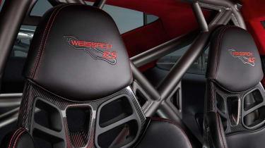 Porsche 911 GT2 RS - seats
