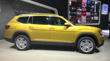 Volkswagen Atlas - LA Motor Show side