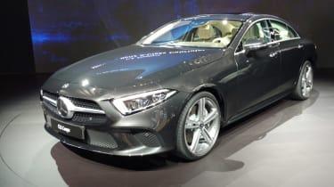 Mercedes CLS LA show pic front grey