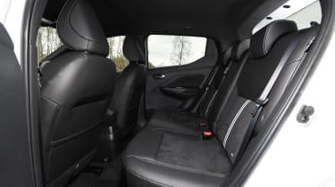 Nissan Micra N-Sport - rear seats