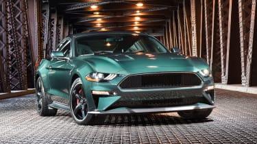 Ford Mustang Bullitt - front