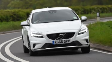 Volvo V40 long-term test review - front