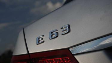 Mercedes E63 AMG badge