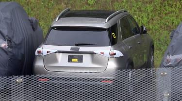 Mercedes GLE spied rear end