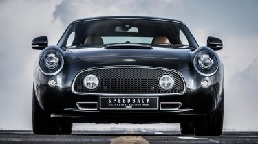 David Brown Automotive Speedback Silverstone edition dead ahead