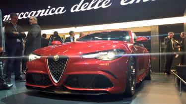 Alfa Romeo Giulia at Frankfurt Motor Show 2015