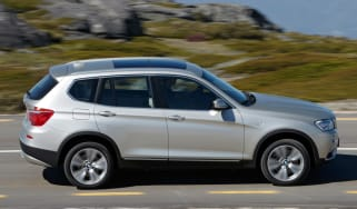 BMW X3 profile