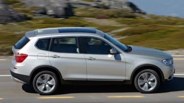 BMW X3 profile
