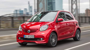 Smart ForTwo and ForFour Brabus front