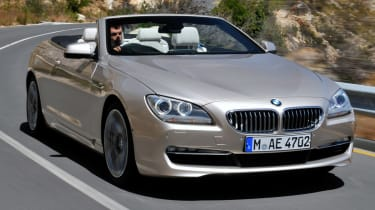 BMW 6 Series Convertible front