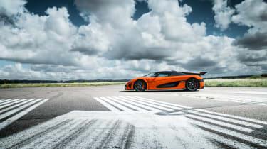 Koenigsegg Agera XS side