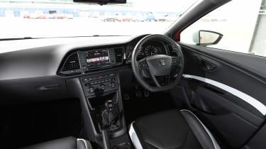 SEAT Leon Cupra 280 interior front