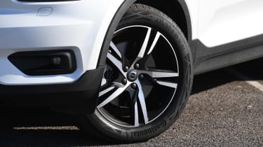 Volvo XC40 Recharge T5 long termer - first report wheel